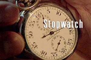 Stopwatch thumb